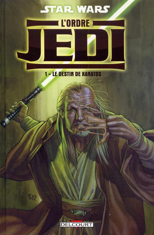 Star Wars - L'Ordre Jedi T1 : Le destin de Xanatos (0), comics chez Delcourt de Allie, Asrar, Mounts, Roux