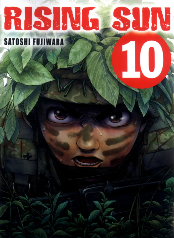 Rising sun T10, manga chez Komikku éditions de Fujiwara