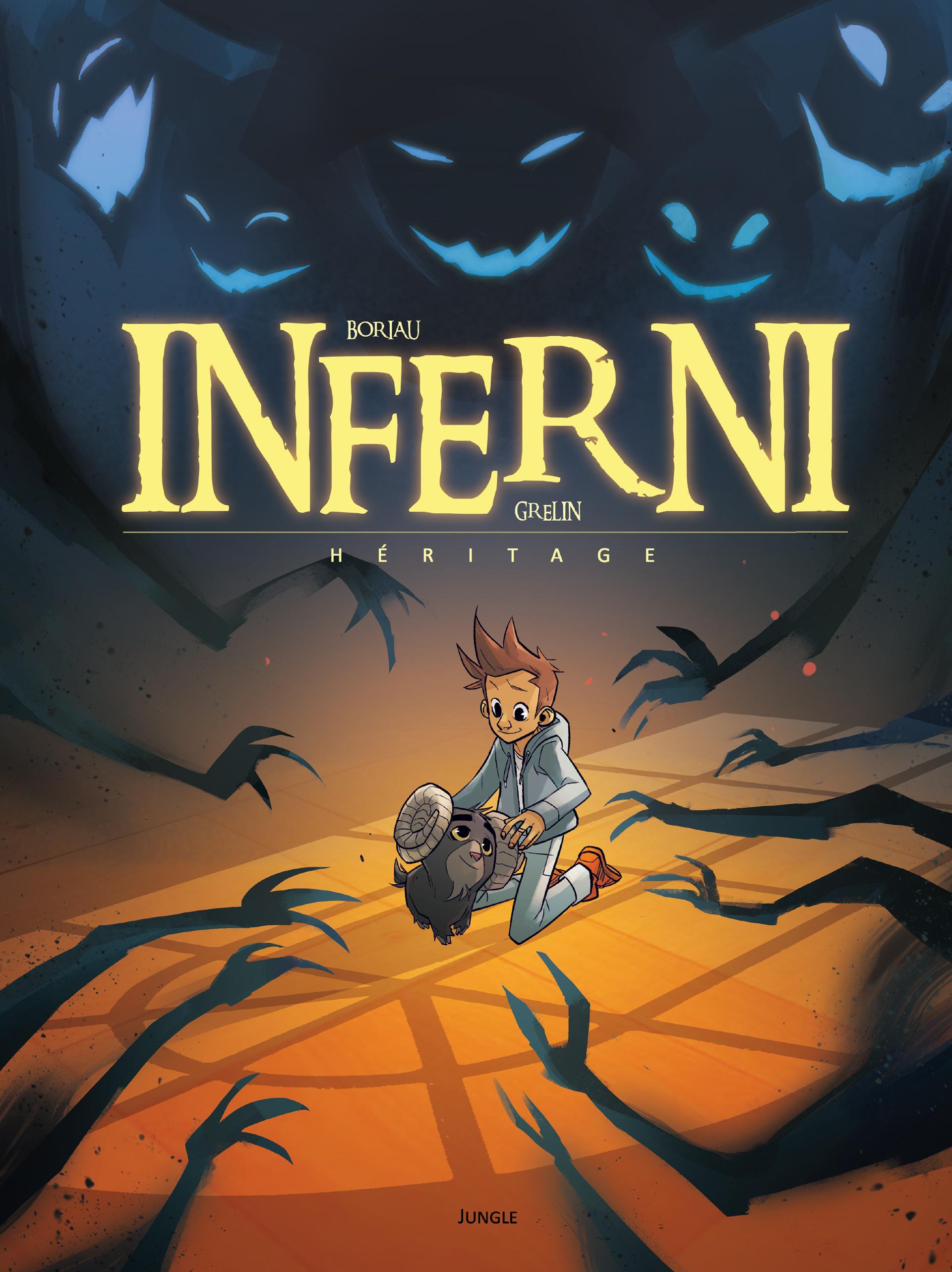 Inferni T1 : Héritage (0), bd chez Jungle de Boriau, Grelin