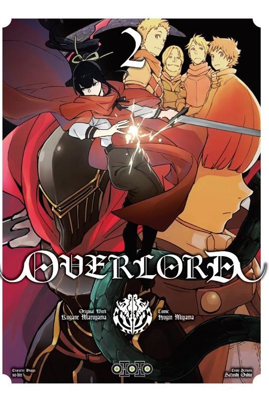 Overlord T2, manga chez Ototo de Maruyama, Miyama
