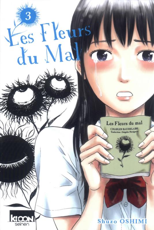 Les fleurs du mal  T3, manga chez Ki-oon de Oshimi