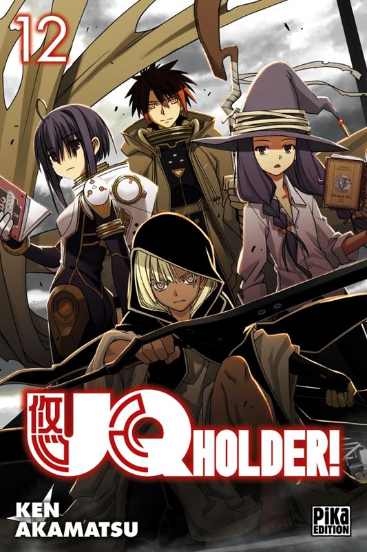 UQ Holder! T12, manga chez Pika de Akamatsu