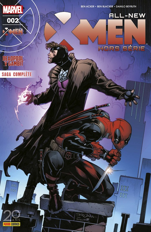All-New X-Men - Hors série T2 : Deadpool v Gambit (0), comics chez Panini Comics de Blacker, Acker, Beyruth, Peter, Stroman