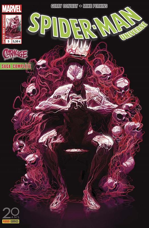 Spider-Man Universe T5 : L'enfer sur mer (0), comics chez Panini Comics de Conway, Perkins, Troy, Del Mundo