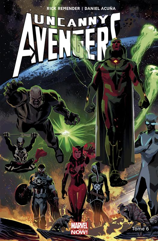 Uncanny Avengers T6 : Contre-évolution (0), comics chez Panini Comics de Remender, Duggan, Acuña