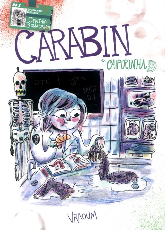 Carabin & Caipirinha, bd chez Vraoum! de Bonacossa