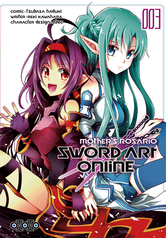 Sword art online - Mother's rosario  T3, manga chez Ototo de Kawahara, Haduki, Abec