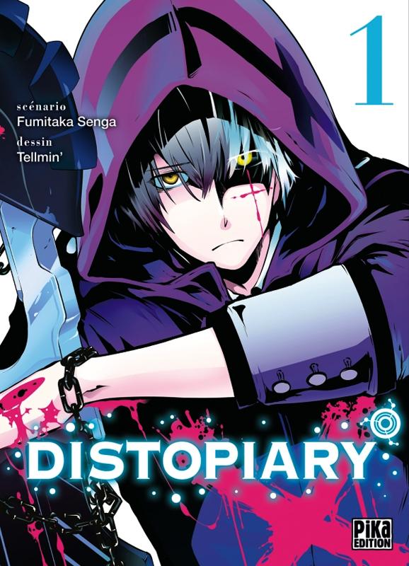 Distopiary T1, manga chez Pika de Senga, Tellmin