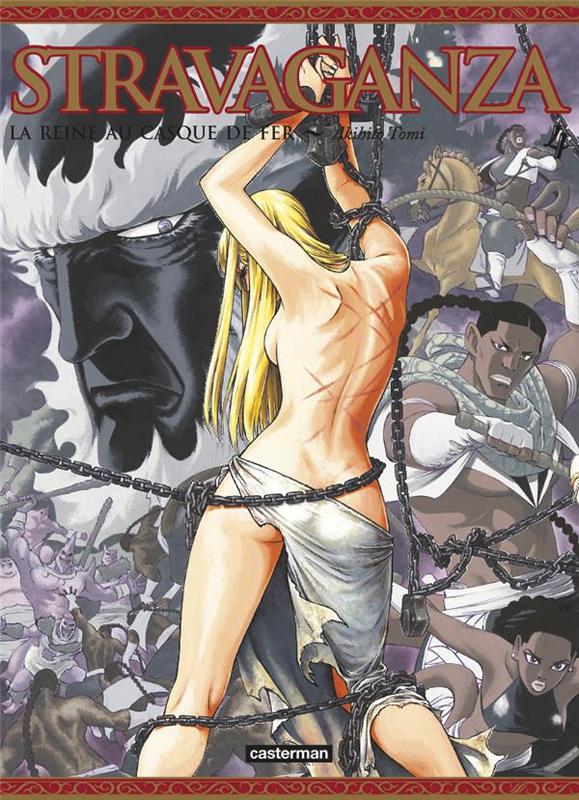 Stravaganza - La reine au casque de fer T4, manga chez Casterman de Tomi