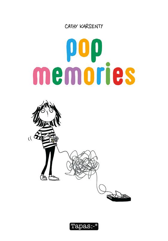 Pop memories, bd chez Delcourt de Karsenty