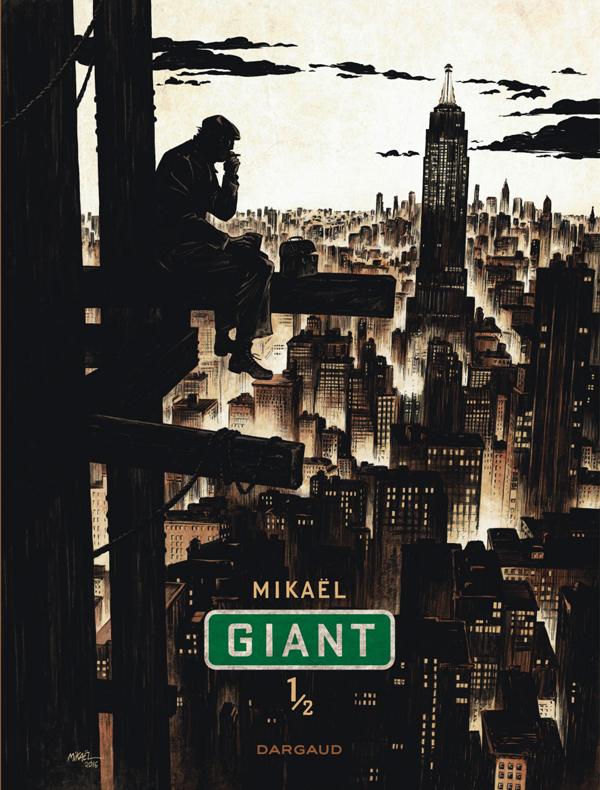 Giant T1, bd chez Dargaud de Mikaël