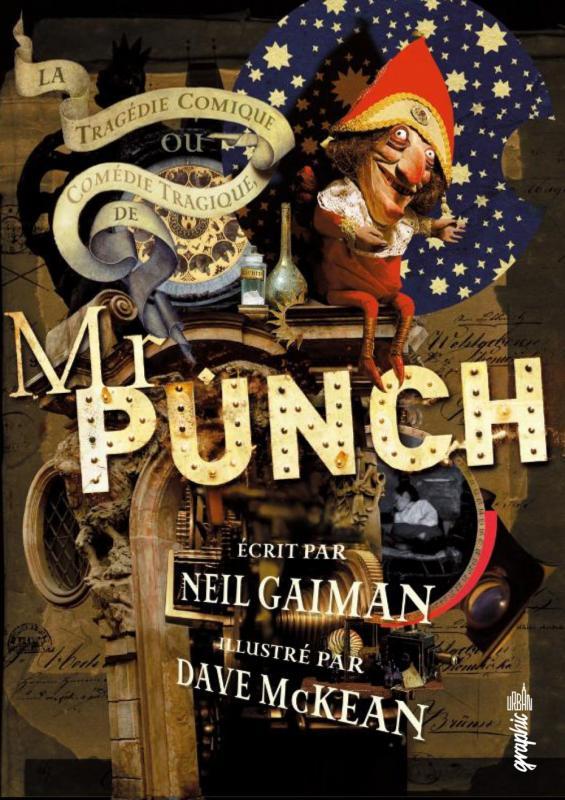 Mr Punch, comics chez Urban Comics de Gaiman, McKean