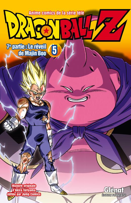 Dragon Ball Z – cycle 7 : Le réveil de Majin Boo, T5, manga chez Glénat de Toriyama