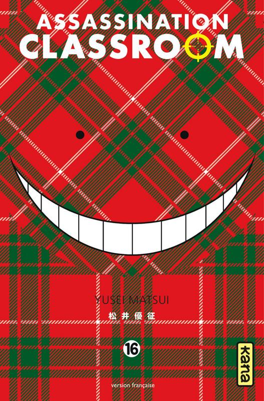 Assassination classroom T16, manga chez Kana de Yusei