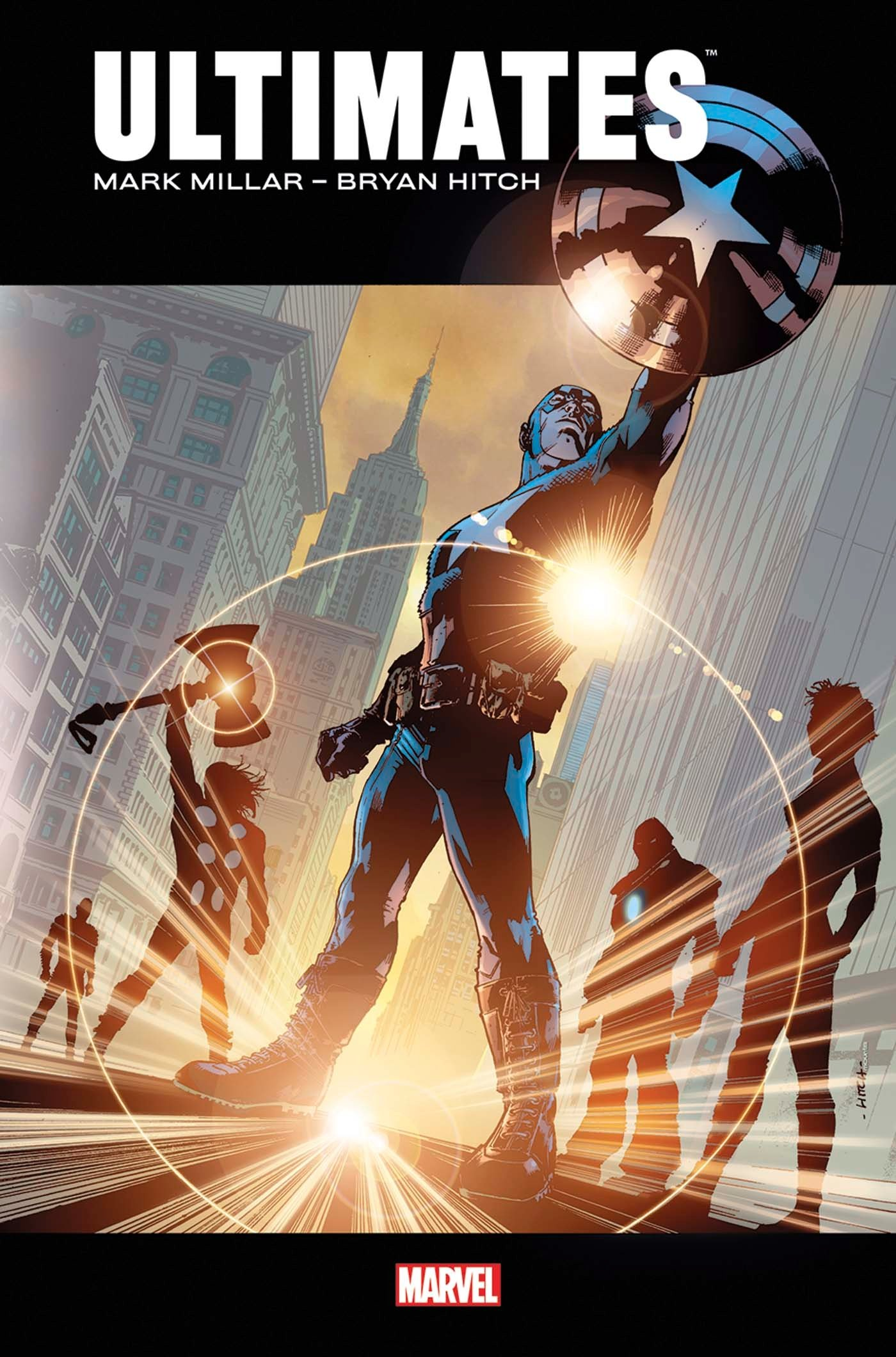 Ultimates, comics chez Panini Comics de Millar, Hitch, Mounts