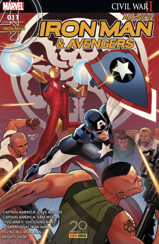 All-New  Iron Man & Avengers T11 : Protéger le futur (0), comics chez Panini Comics de Landy, Bendis, Aaron, Spencer, Deodato Jr, Andrade, Maleev, Dauterman, Pina, Acuña, Martin jr, Rosenberg, Wilson, Mrva, Mounts, Renaud