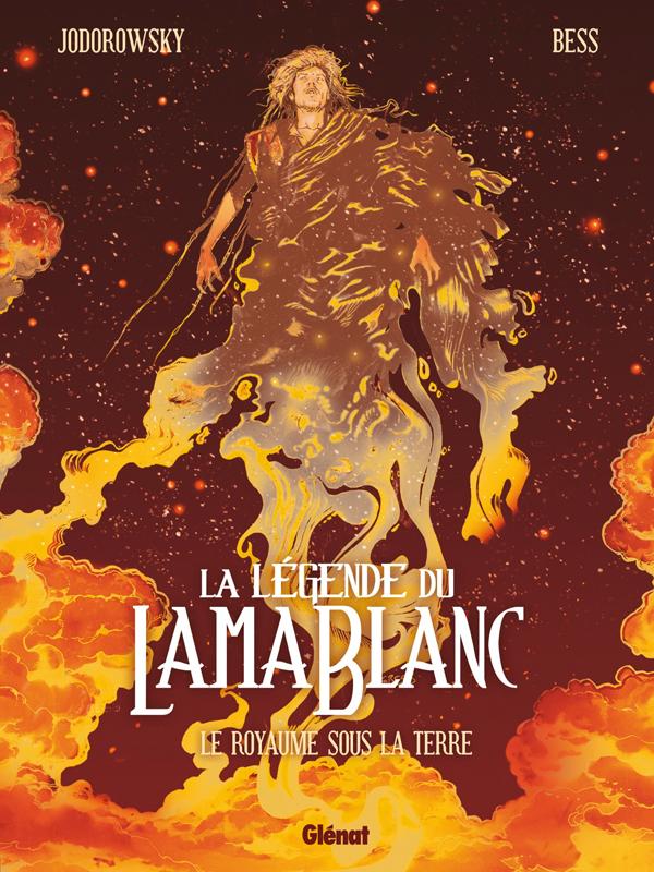 La Légende du lama blanc T3 : Le Royaume sous la terre (0), bd chez Glénat de Jodorowsky, Bess