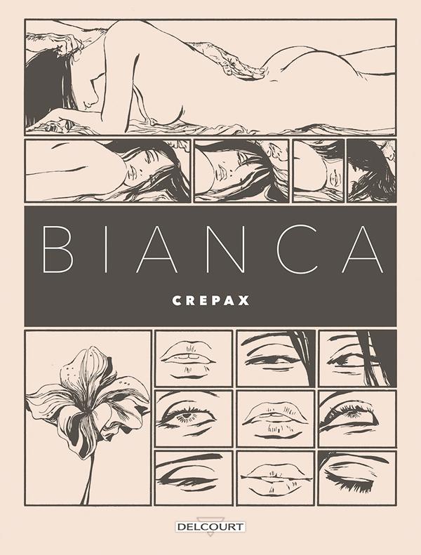 Bianca, bd chez Delcourt de Crepax