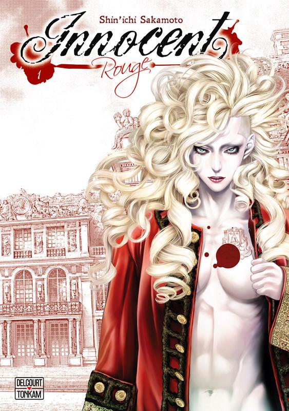 Innocent Rouge T1, manga chez Delcourt Tonkam de Sakamoto