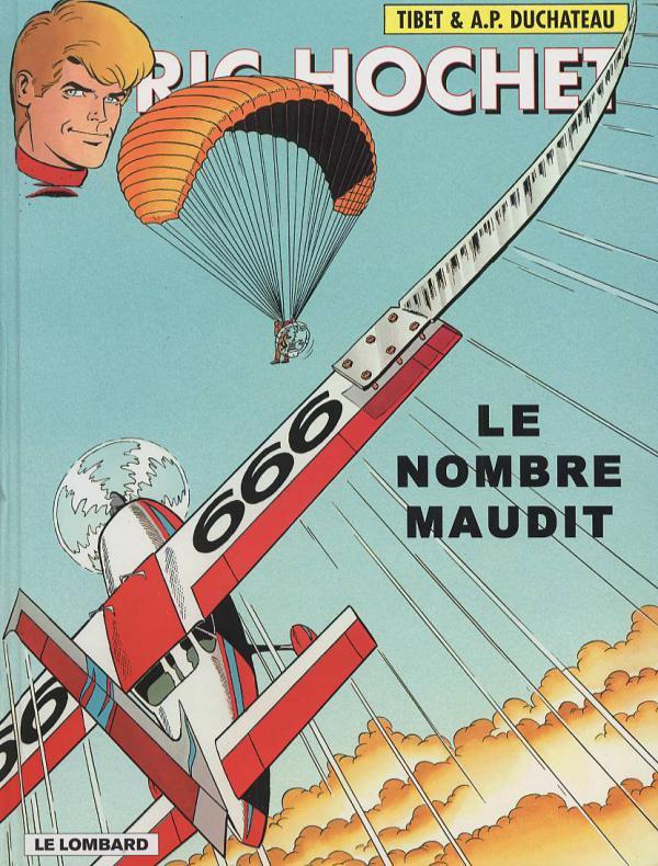 Ric Hochet T67 : Le nombre maudit (0), bd chez Le Lombard de Duchateau, Tibet, Brichau