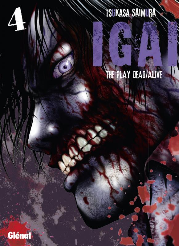 Igai - The play dead/alive T4, manga chez Glénat de Saimura