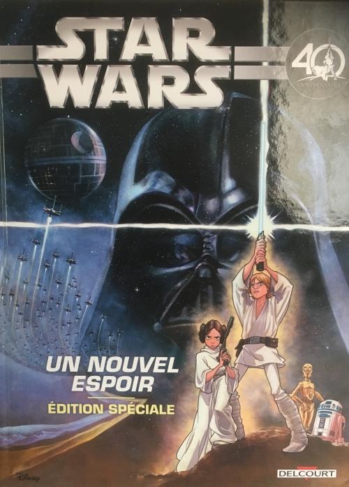 Star Wars épisode IV : Un Nouvel Espoir - Edition Spéciale (0), comics chez Delcourt de Ferrari, Attardi, Shue, Ghiglione, Santillo, Kawaï Creative Studios
