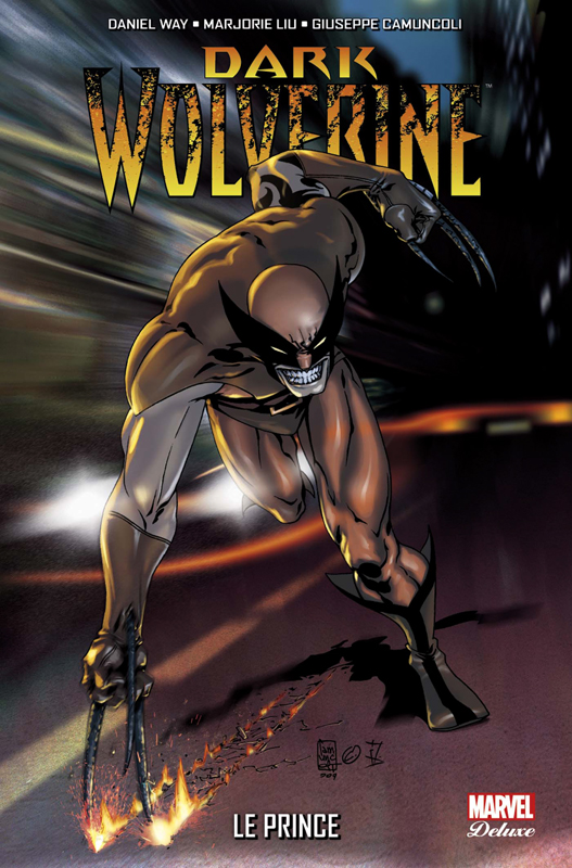 Dark Wolverine T1 : Le Prince (0), comics chez Panini Comics de Way, Diaz, Segovia, Camuncoli, Gracia, Fabela, SotoColor, Street