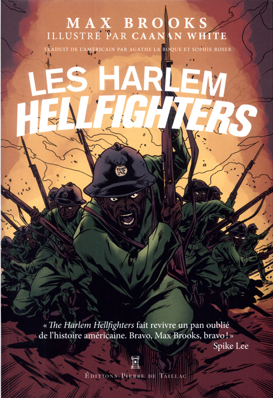 Les Harlem Hellfighters, comics chez Pierre de Taillac de Brooks, White