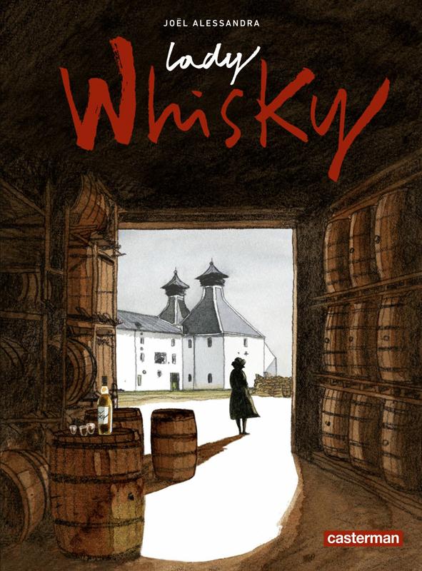Lady Whisky, bd chez Casterman de Alessandra