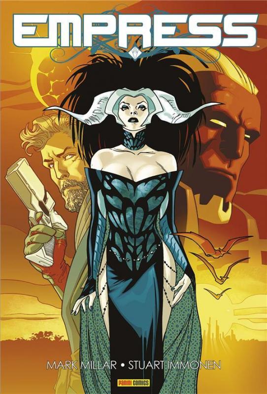 Empress, comics chez Panini Comics de Millar, Immonen, Svorcina