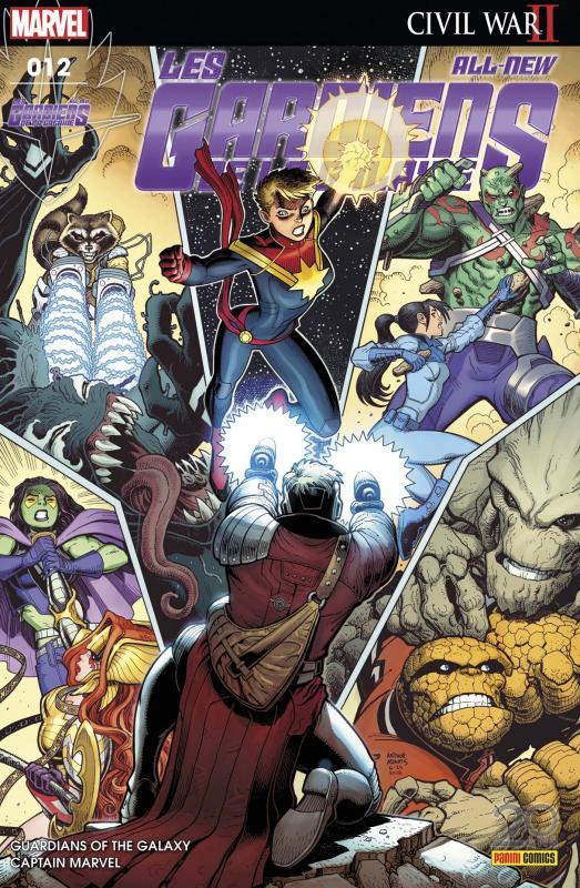 All-New Les Gardiens de la Galaxie T12 : Le changement, c'est maintenant ! (0), comics chez Panini Comics de Fletcher Gage, Bendis, Gage, Maguire, Schiti, Silas, Wilson, Isanove, Adams