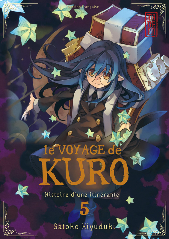 Le voyage de Kuro T5, manga chez Kana de Kiyuduki