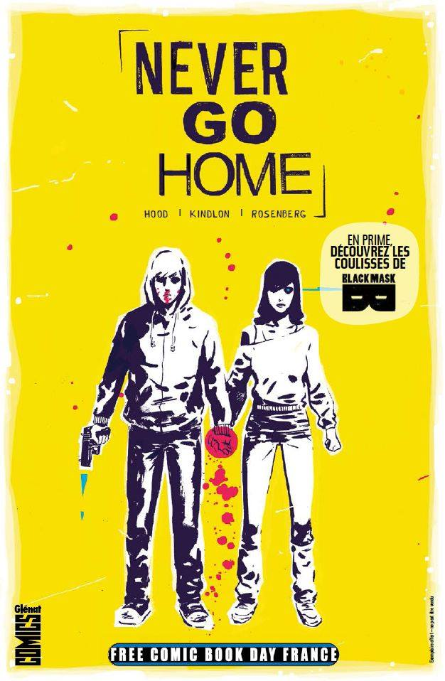 Never Go Home : Free Comic Book Day France (0), comics chez Glénat de Rosenberg, Kindlon, Hood