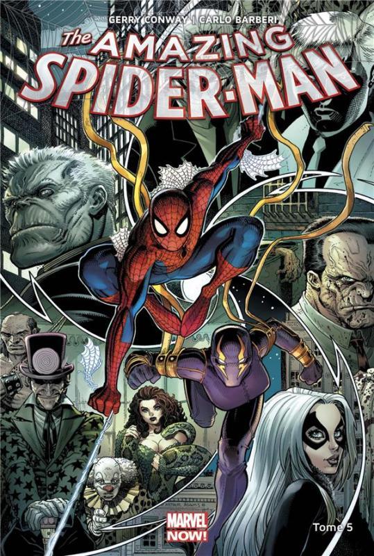 The Amazing Spider-Man T5 : Descente aux enfers (0), comics chez Panini Comics de Conway, Barberi, Silva, Adams