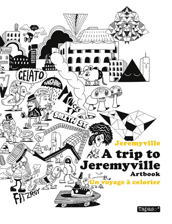 A trip to Jeremyville, bd chez Delcourt de Jeremyville