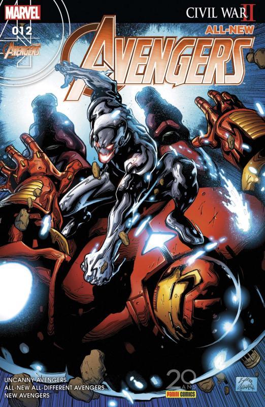 All-New Avengers (revue) T12 : Rage Against The Machine (0), comics chez Panini Comics de Duggan, Ewing, Waid, Whitley, Larraz, Medina, Kubert, Oback, Aburtov, Curiel, Stegman