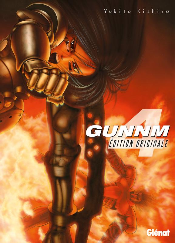 Gunnm Edition originale  T4, manga chez Glénat de Kishiro