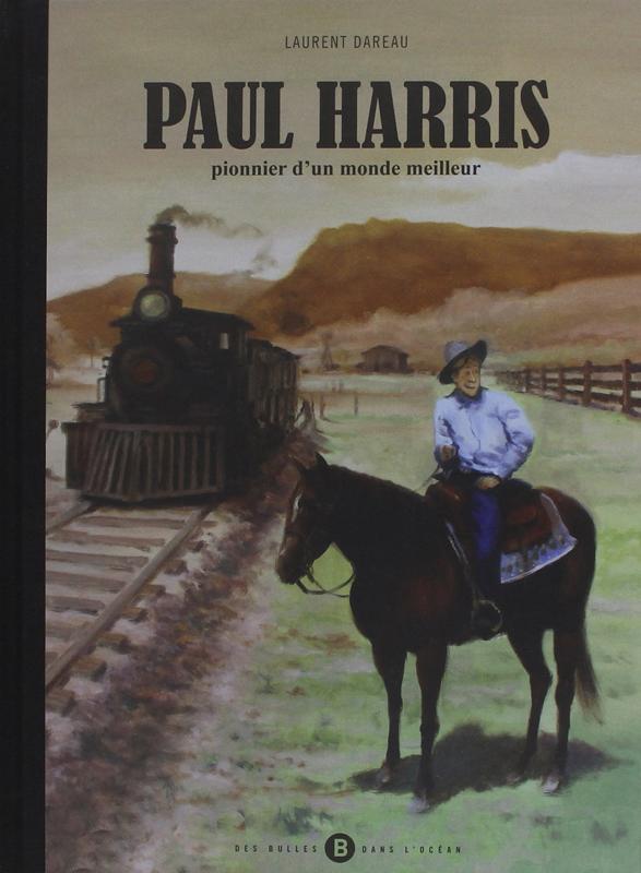 Paul Harris, bd chez Des bulles dans l'océan de Dareau, Alvarez