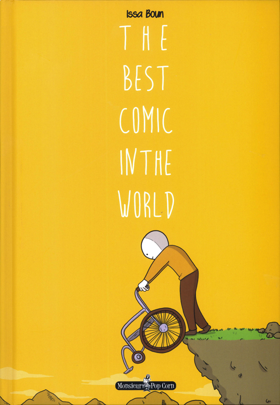 The Best comic in the world, bd chez Monsieur Pop Corn de Boun