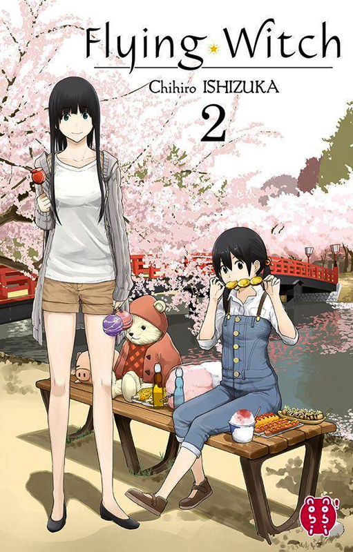 Flying witch  T2, manga chez Nobi Nobi! de Ishizuka