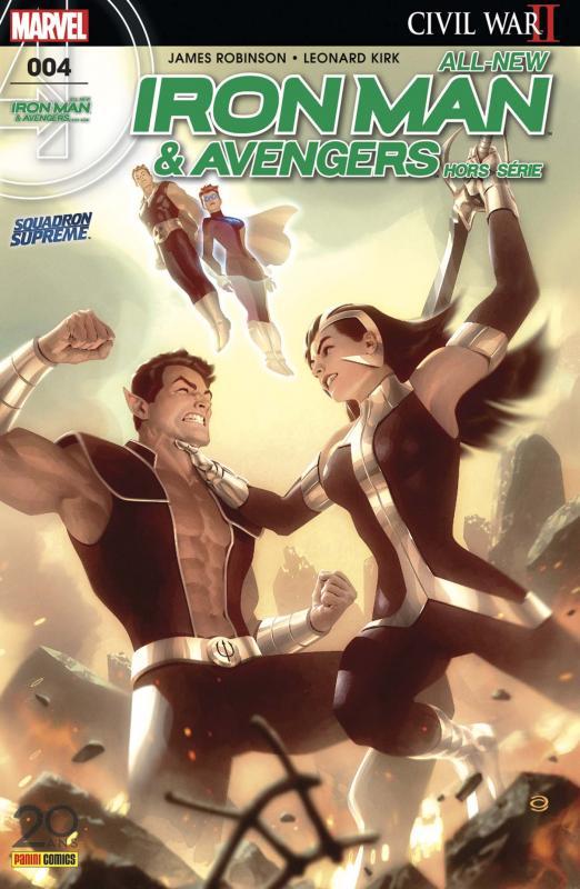 All-New Iron Man & Avengers - Hors Série T4 : Trouver Namor (0), comics chez Panini Comics de Robinson, Laiso, Kirk, Villanelli, Sotomayor, Garner