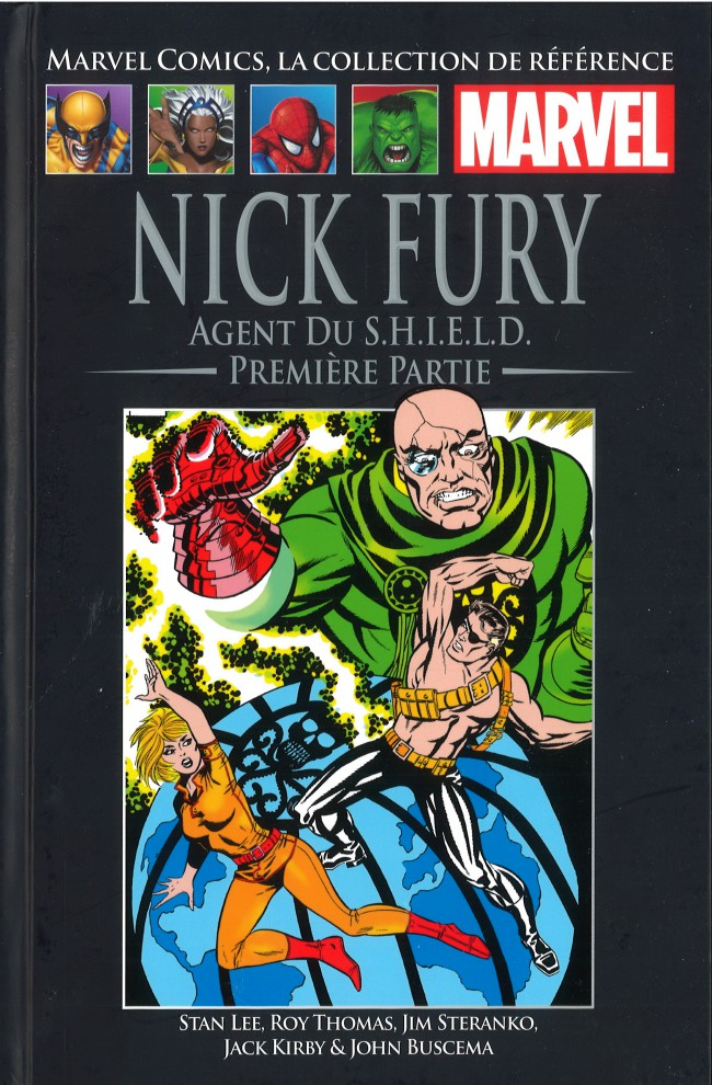 Marvel Comics, la collection de référence – Classic, T6 : Nick Fury Agent du S.H.I.EL.D. - Première partie (0), comics chez Hachette de Lee, Jim Steranko ou Steranko, Thomas, Buscema, Kirby, Collectif