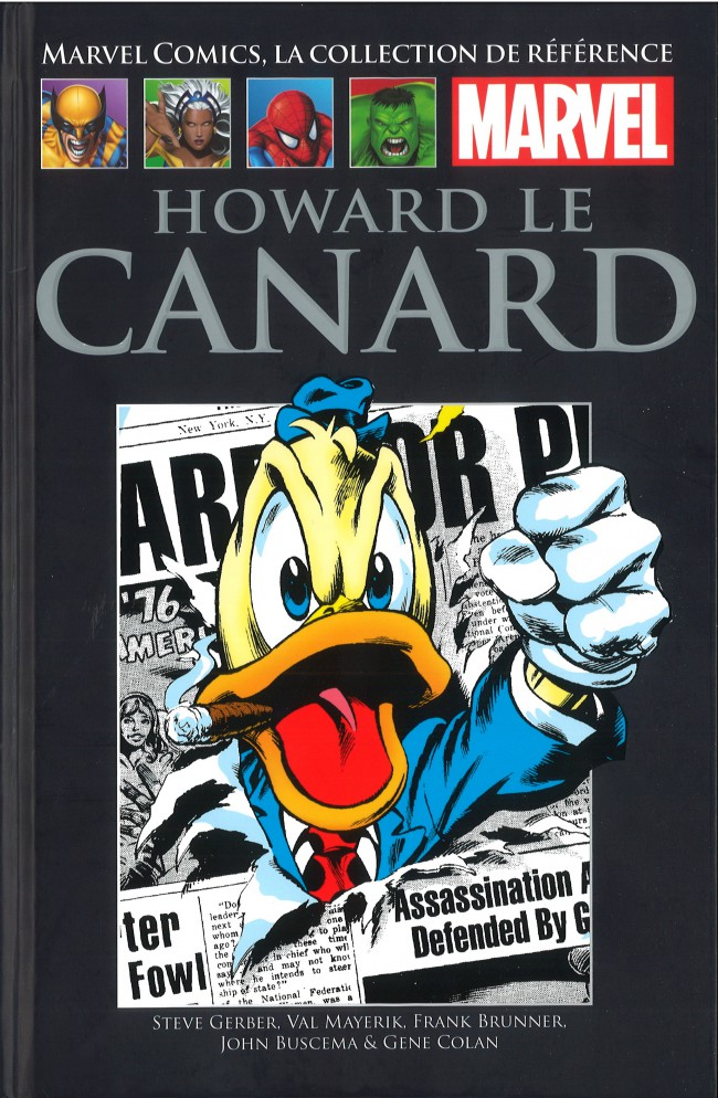 Marvel Comics, la collection de référence T27 : Howard le Canard (0), comics chez Hachette de Gerber, Buscema, Mayerik, Colan, Brunner, Leialoha, Collectif