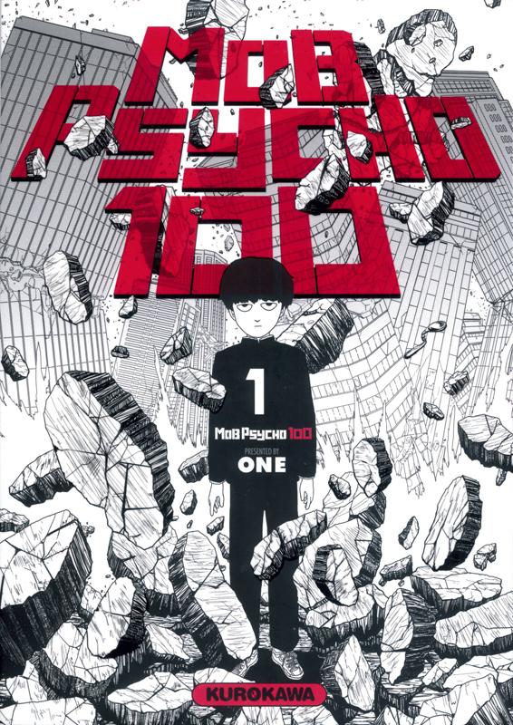 Mob psycho 100 T1, manga chez Kurokawa de One
