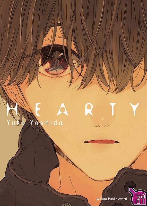 Hearty, manga chez Taïfu comics de Yoshida