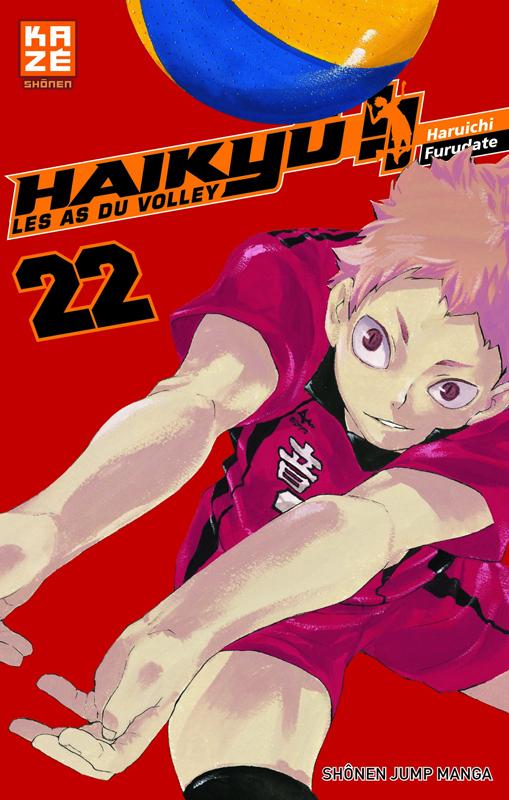 Haikyû, les as du volley T22, manga chez Kazé manga de Furudate