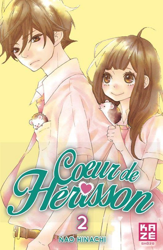 Cœur de hérisson T2, manga chez Kazé manga de Hinachi