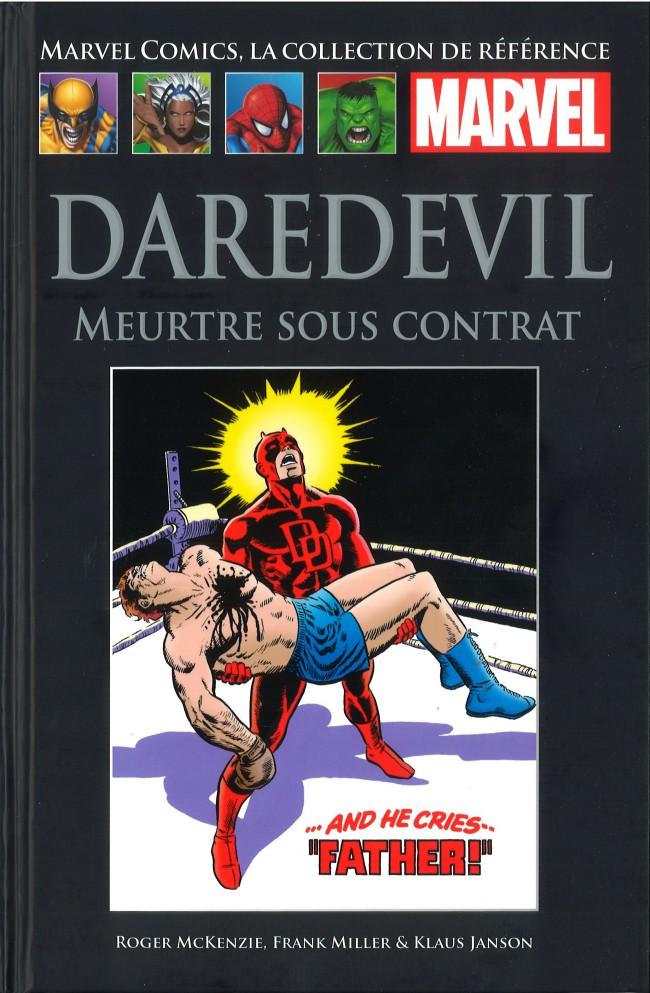 Marvel Comics, la collection de référence – Classic, T38 : Daredevil - Meurtre sous contrat (0), comics chez Hachette de Miller, Michelinie, McKenzie, Janson, Wein, Roussos, Sharen