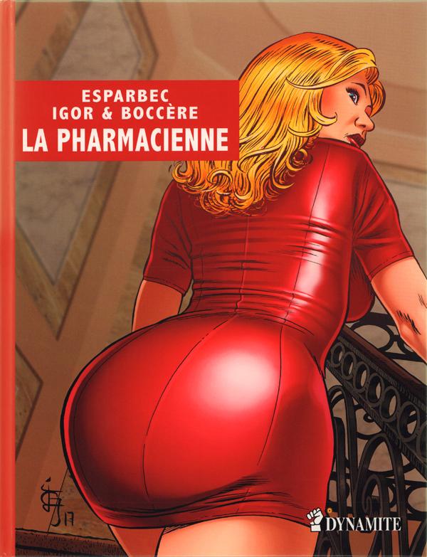 La Pharmacienne, bd chez La Musardine de Igor, Boccère