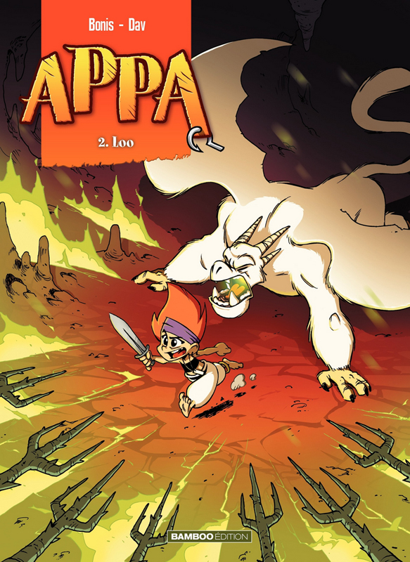 Appa (format franco-belge) T2 : Loo (0), bd chez Bamboo de Bonis, Dav, Esteban